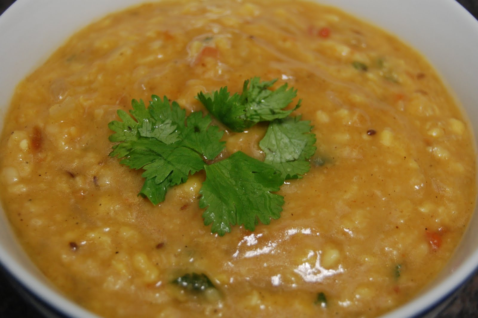 how to cook dhal curry