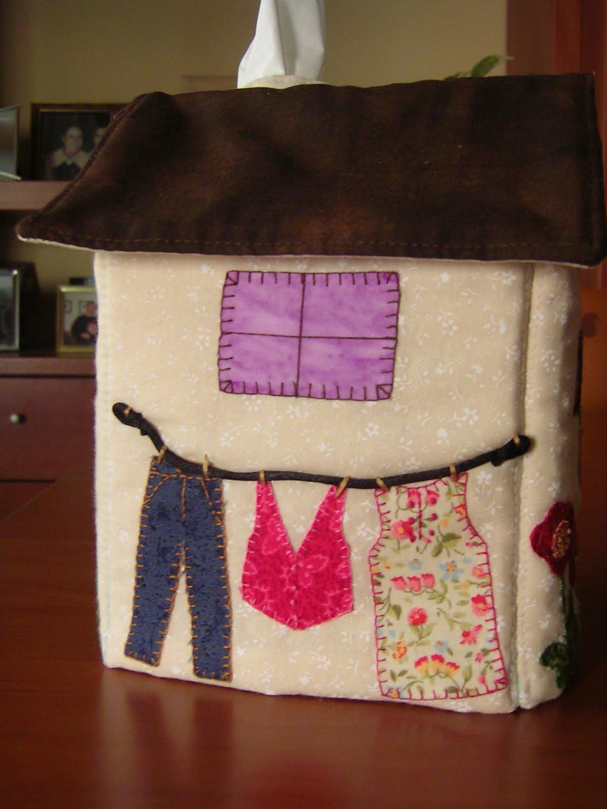 Labores y manualidades patchwork casita guarda pa uelos - La casita del patchwork ...