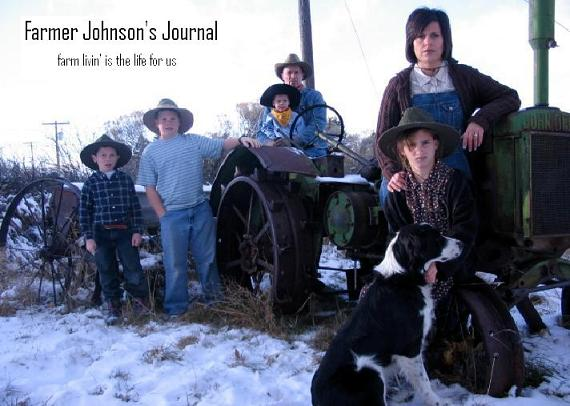 Farmer Johnson's Journal