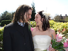 Marky and me on our Wedding Day