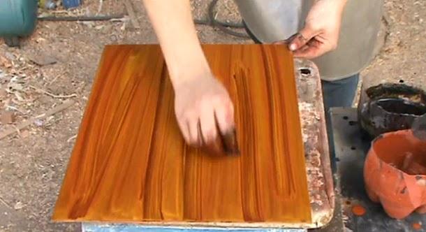 Decoraciones manualidades en madera como imitar la madera for Que son las vetas de la madera