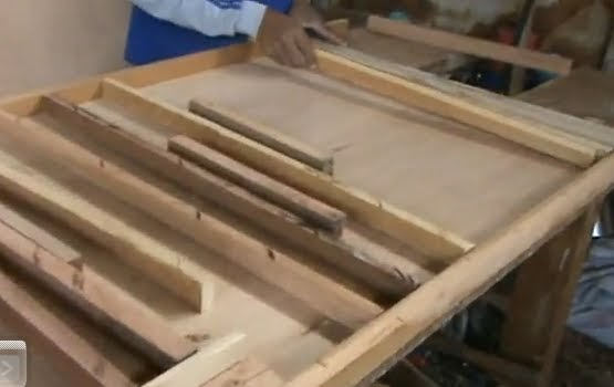 Decoraciones manualidades en madera como hacer una puerta - Como hacer una puerta corredera de madera ...