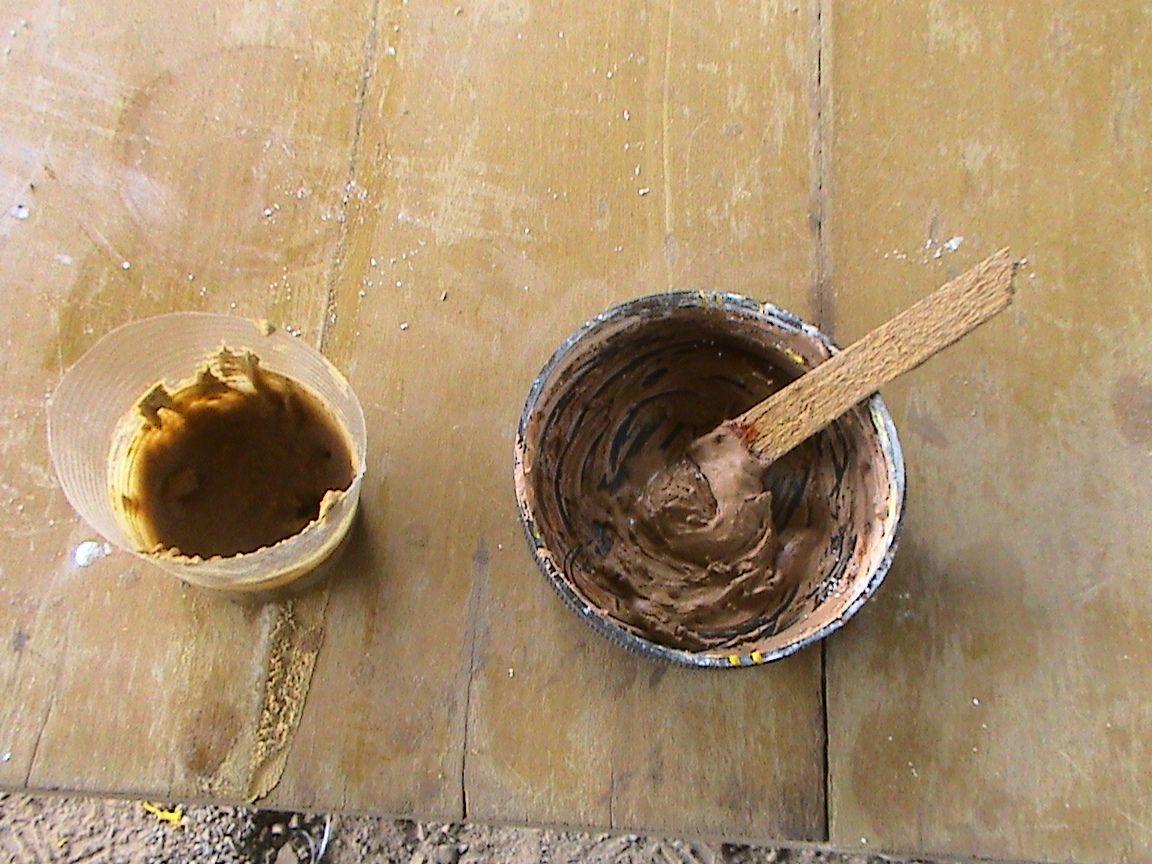 Decoraciones manualidades en madera como preparar masilla for Que significa wc