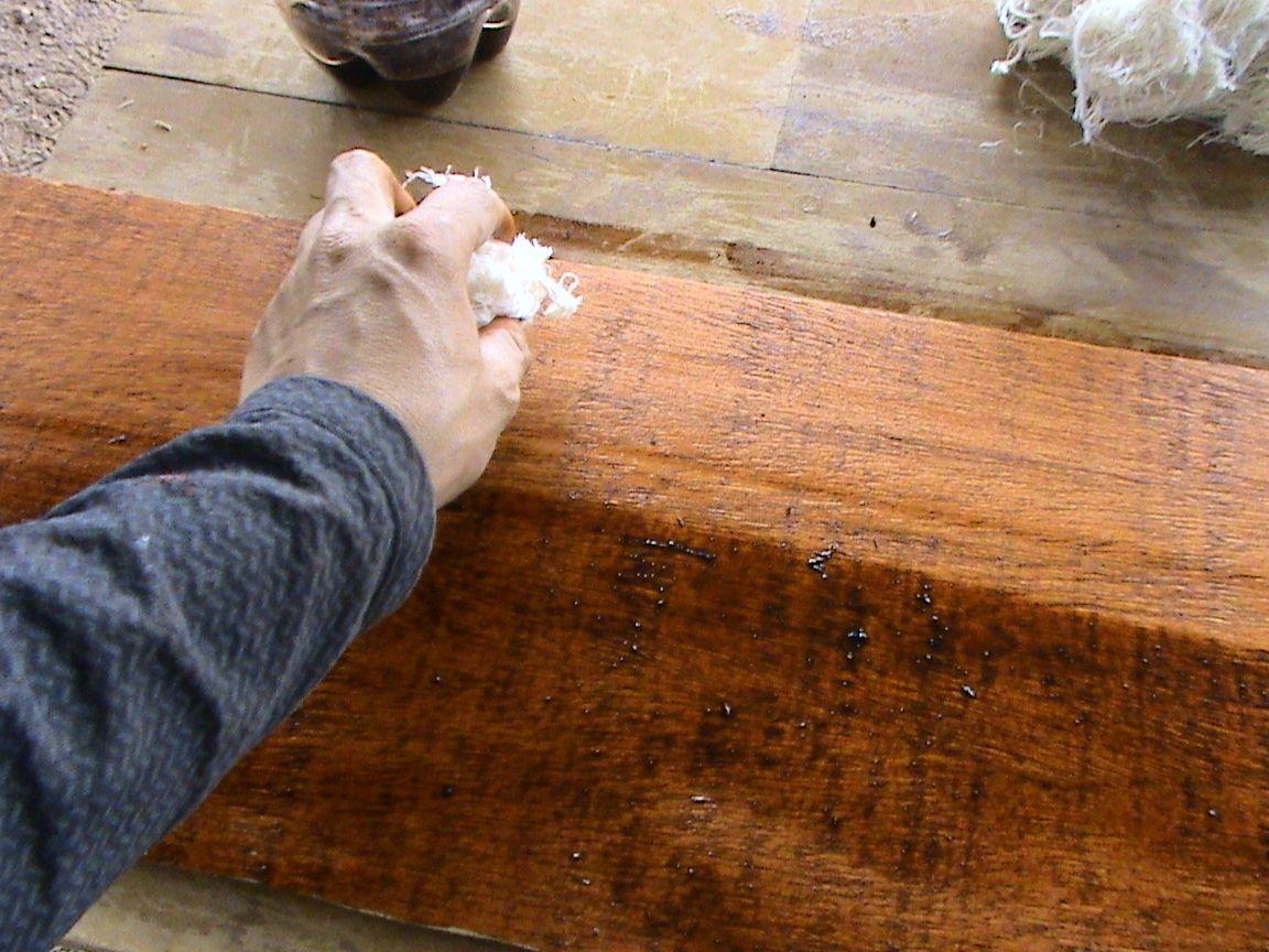 Decoraciones manualidades en madera como se usan los - Pintar sobre barniz ...