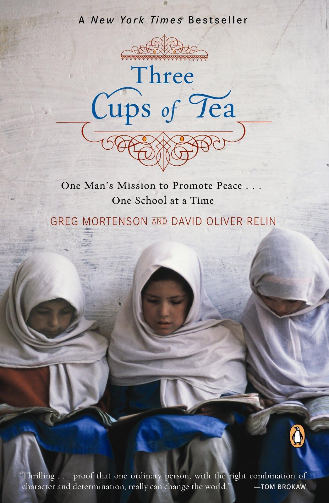 Три чашки чая - это поразительная история о том, как самый обычный