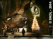 Place a prayer petition at the grotto of lourdes