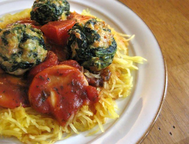 Lillyella In The Kitchen Chicken Florentine Meatballs