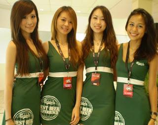 สาวพริตตี้ หมวย สวย เซ็ก สิงคโปร์ดริฟท์ 2010 (Pretty Singapore Drift 2010)