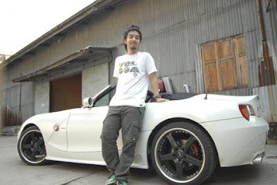 กวาง AB normal กับ BMW Z4 รถในฝัน