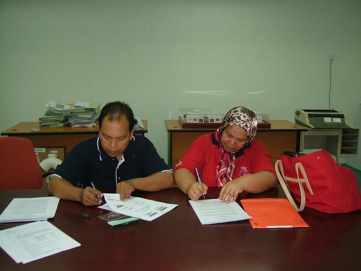 Perjanjian Jual Beli Rmah Taman Mawar, Bandar Baru Salak Tinggi, Sepang Selangor