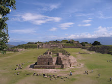 Monte Alban - Near Oaxaca in Mexico City