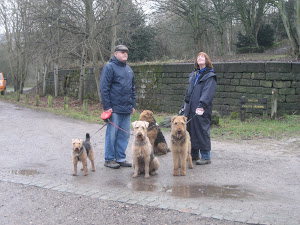 John, Hilary, Molly, Taffy, Mindy and Alf