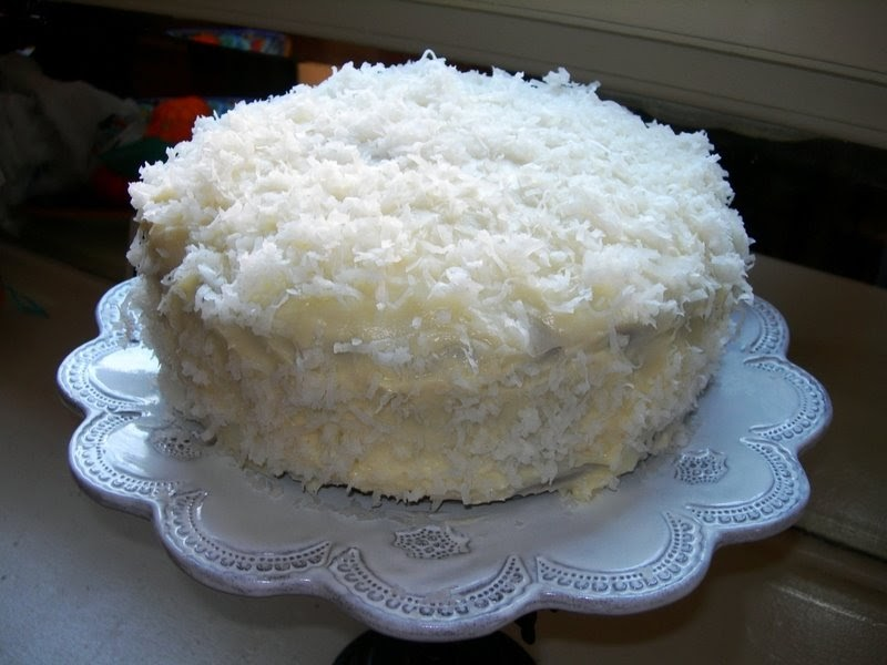 Diane's Recipes: OLD FASHIONED COCONUT CAKE