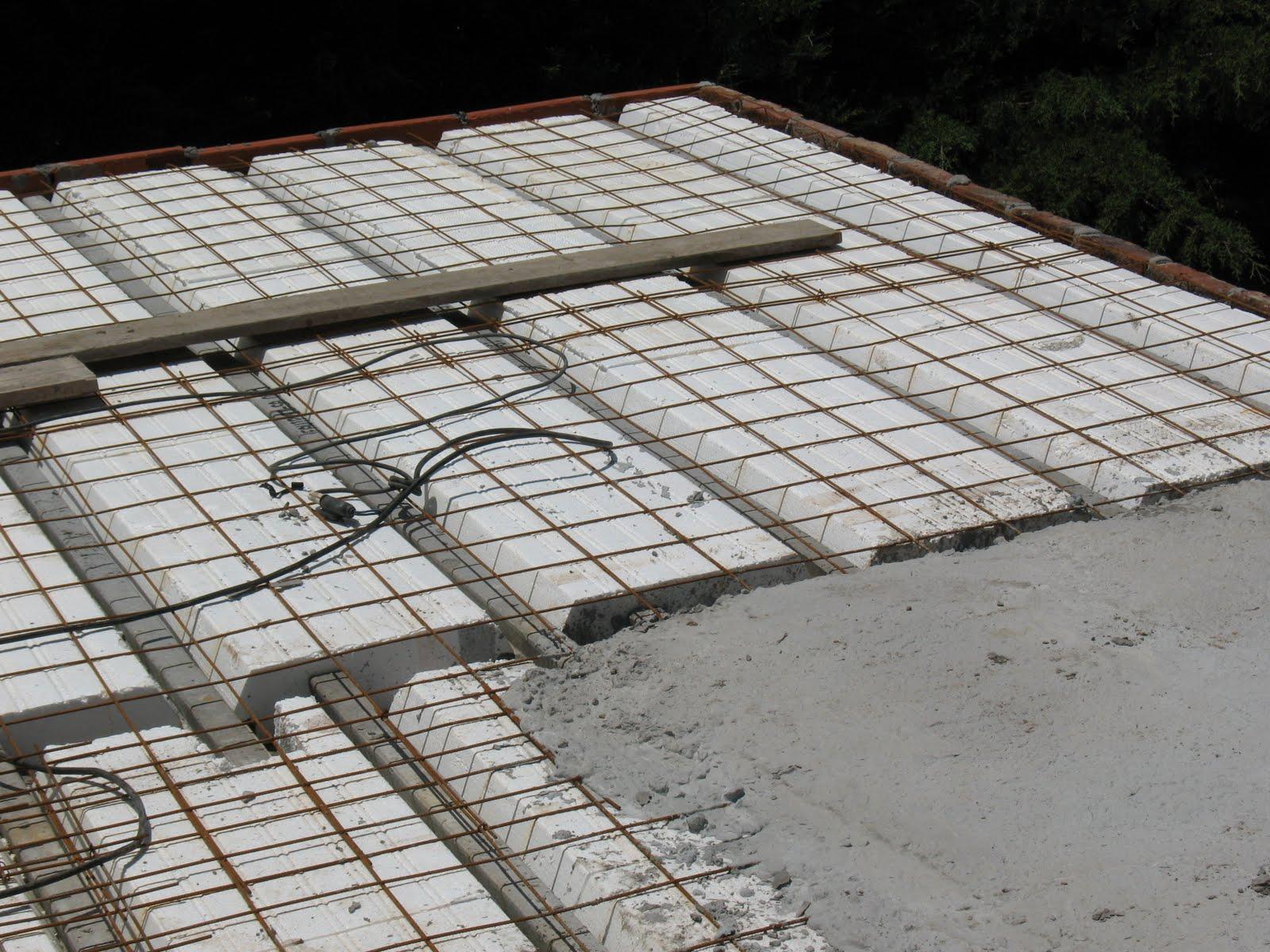 Canell argentina construcciones platea de fundaci n hasta for Losa techo