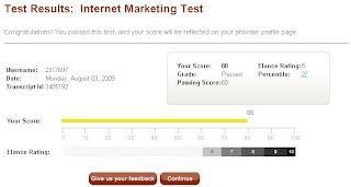 Інтернет-маркетинг тест