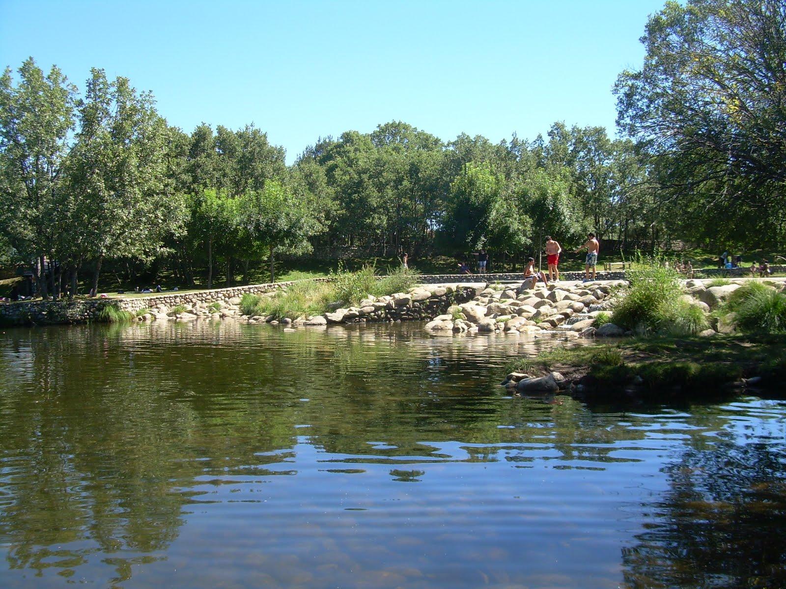 Abrir el horizonte presillas del rio lozoya rascafria for Piscinas naturales de rascafria