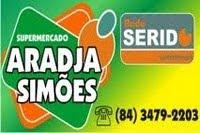 PUBLICIDADE - SUPER MERCADO ARADJA SIMÕES
