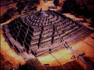 borobudur temple picture past