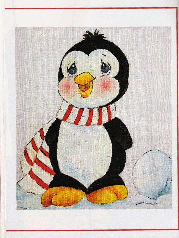Vistoso Patrón De Tejer Para Pingüino Ideas - Manta de Tejer Patrón ...