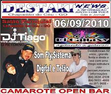DJ TIAGO EM AGOSTO