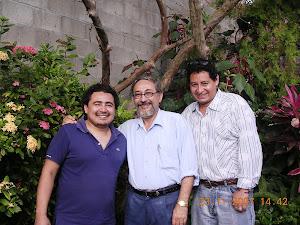 Miembros del jurado de los Juegos Floraes de San Vicente, 2007