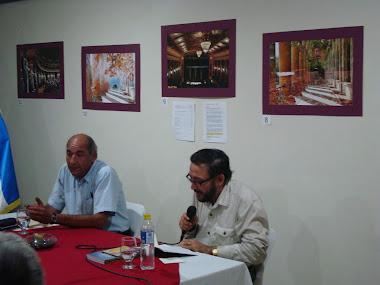 Pablo Menacho y André Cruchaga