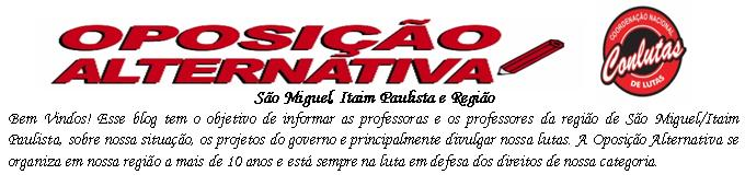 Oposição Alternativa São Miguel / Itaim Paulista