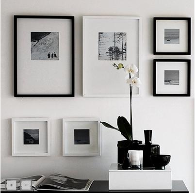 la isla blogita: white company photo frames