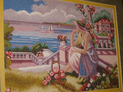 Patrones punto de cruz gratis paisajes - Imagui