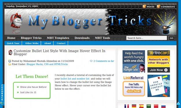 mybloggertricks.com