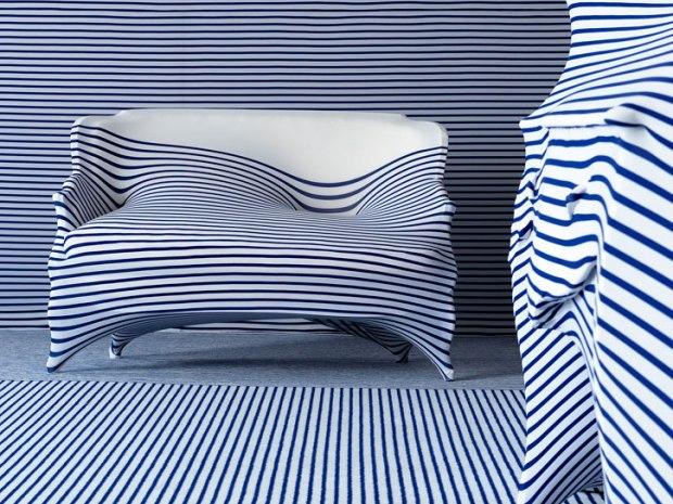 I sea stripes jean paul gaultier and roche bobois - Roche bobois jean paul gaultier ...