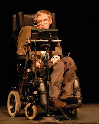 Profesor Stephen Hawking [Clic para ampliar la imagen]