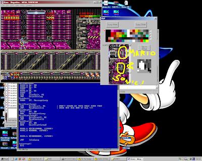 Mario y Sonic en Mega Turrican