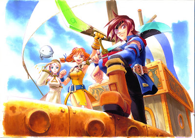 Skies of Arcadia Wallpaper