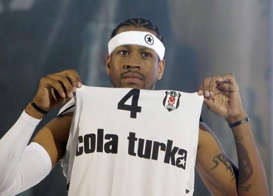 allen iverson turkey. NBA legend Allen Iverson