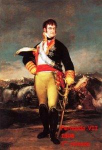 Fernando VII - 1º reinado