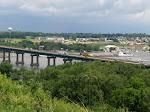 Bridge across the Mississippi River