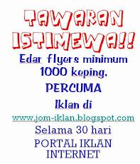 TAWARAN ISTIMEWA / SPECIAL OFFER