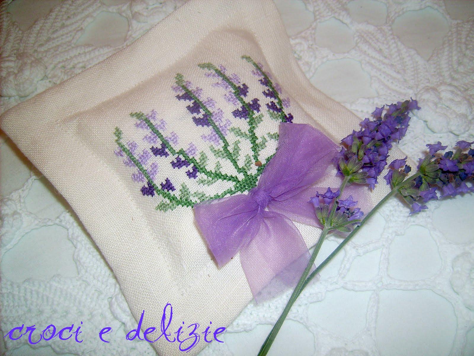 Croci e delizie sacchetto di lavanda - Pagine da colorare croci ...