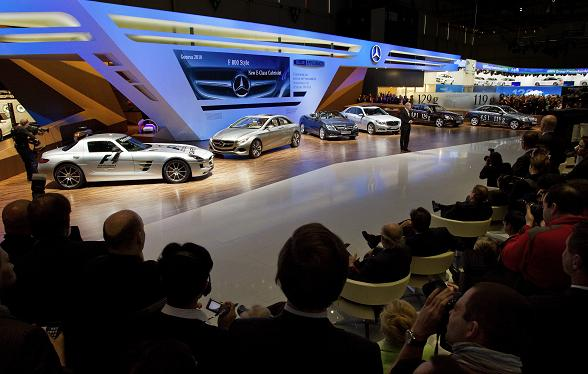 Mercedes-Benz Geneva Motor Show 2010