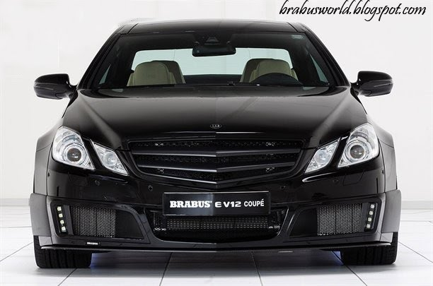 Mercedes Benz V12 Coupe. Brabus E V12 Coupe