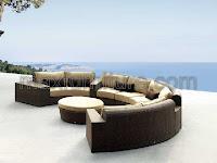 half-circle seating