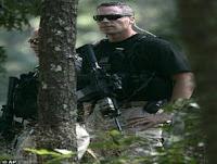 Secret Service security forces