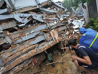 Earthquake in West Sumatera