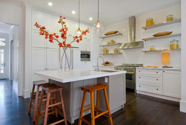 Kitchen Shelves Decorating Ideas