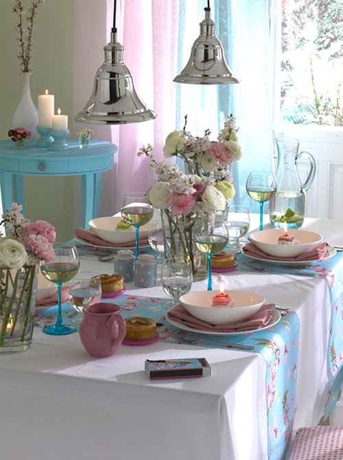Little Sooti: Lovely Spring Table Setting