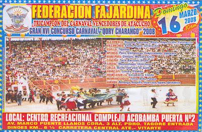Carnaval Qori Charango 2008 - Víctor Fajardo / Ayacucho