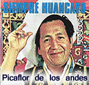 "PICAFLOR DE LOS ANDES – JUNÍN. ""GENIO DEL HUAYTAPALLANA"". Videos, reseñas, letras de canciones, etc."