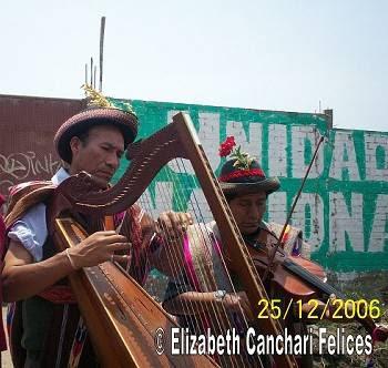 WALBERTO QUISPE MICHUE EN FIESTA DE NAVIDAD 2006 CON EL AYLLU SAWQA