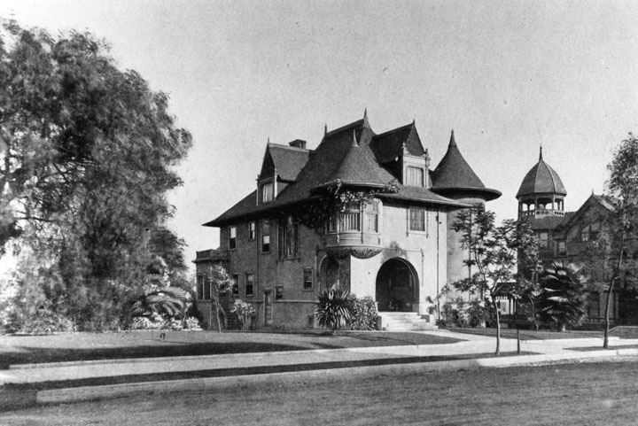 A Historical Panorama Of Los Angeles Victorian
